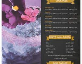 """#4 for Create a double sided """"Treatment"""" & """"Drinks"""" menu af FALL3N0005000"""