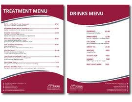 """#8 for Create a double sided """"Treatment"""" & """"Drinks"""" menu af FALL3N0005000"""