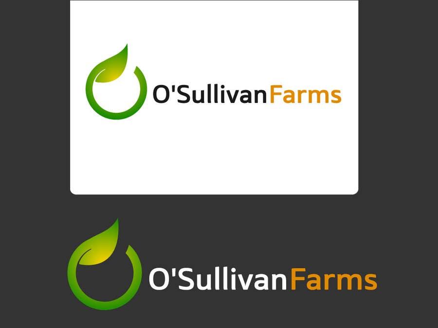 Proposition n°                                        125                                      du concours                                         Logo Design for O'Sullivan Farms