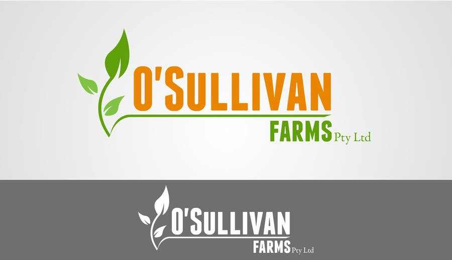 Proposition n°                                        155                                      du concours                                         Logo Design for O'Sullivan Farms