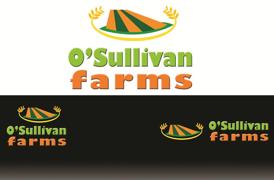 Proposition n°                                        33                                      du concours                                         Logo Design for O'Sullivan Farms