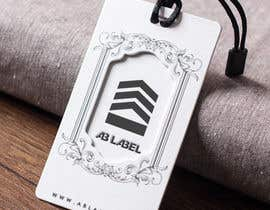 #14 for Develop tags for clothes - present concept, artwork and measurements af kreativewebtech