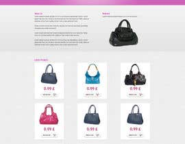 #11 para Website Design for Women's Tote Bags por tania06