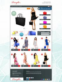 #16 for Website Design for Women's Tote Bags by ANALYSTEYE