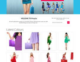 #3 para Website Design for Women's Tote Bags por Alexw1