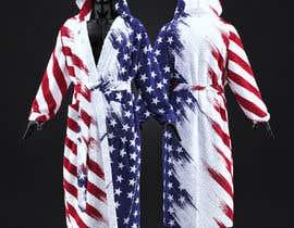 Nro 26 kilpailuun Design an American Flag Bathrobe käyttäjältä amelnich