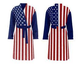Nro 33 kilpailuun Design an American Flag Bathrobe käyttäjältä AzharRao