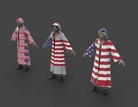 Nro 66 kilpailuun Design an American Flag Bathrobe käyttäjältä sihagarts