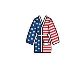 Nro 64 kilpailuun Design an American Flag Bathrobe käyttäjältä gb25