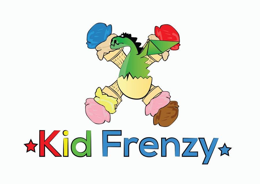 "Proposition n°                                        5                                      du concours                                         Design a Logo for ""Kid Frenzey"""