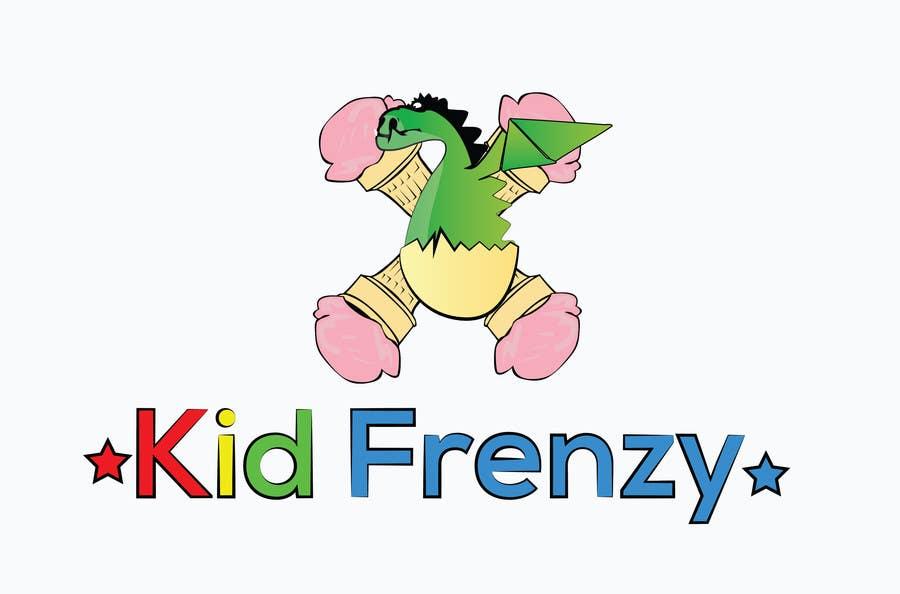 "Proposition n°                                        6                                      du concours                                         Design a Logo for ""Kid Frenzey"""