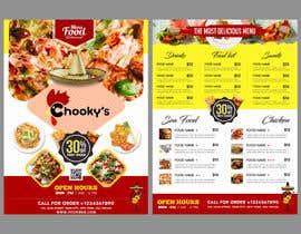 #4 untuk Takeaway shop menu design oleh MdFaisalS