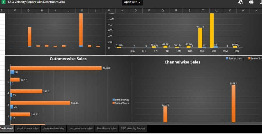 Proposition n°18 du concours Creating Excel templates for smart tracking