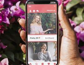sbh5710fc74b234f tarafından Redesign of dating app main page için no 28