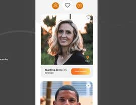 #31 for Redesign of dating app main page by kubulu