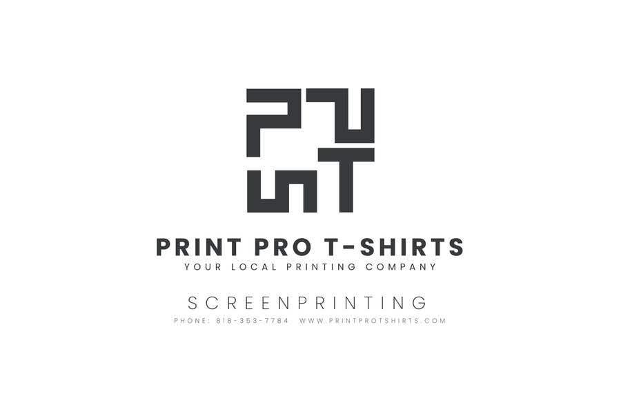 Konkurrenceindlæg #2 for Print Pro T-shirts