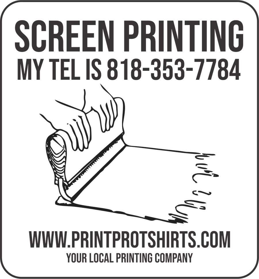 Konkurrenceindlæg #1 for Print Pro T-shirts