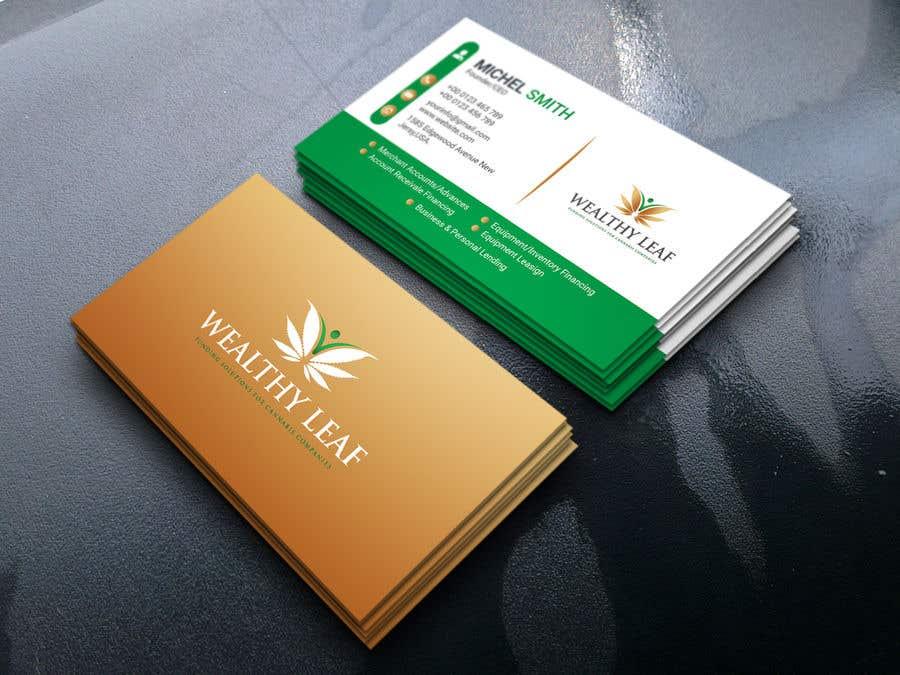 Proposition n°172 du concours Wealthy Leaf needs business cards