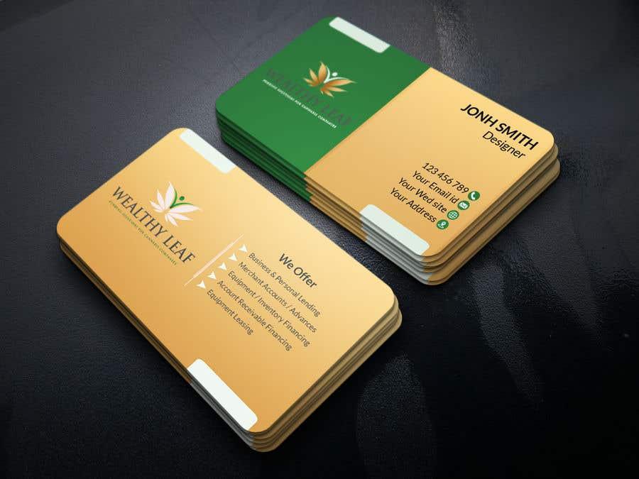 Proposition n°134 du concours Wealthy Leaf needs business cards