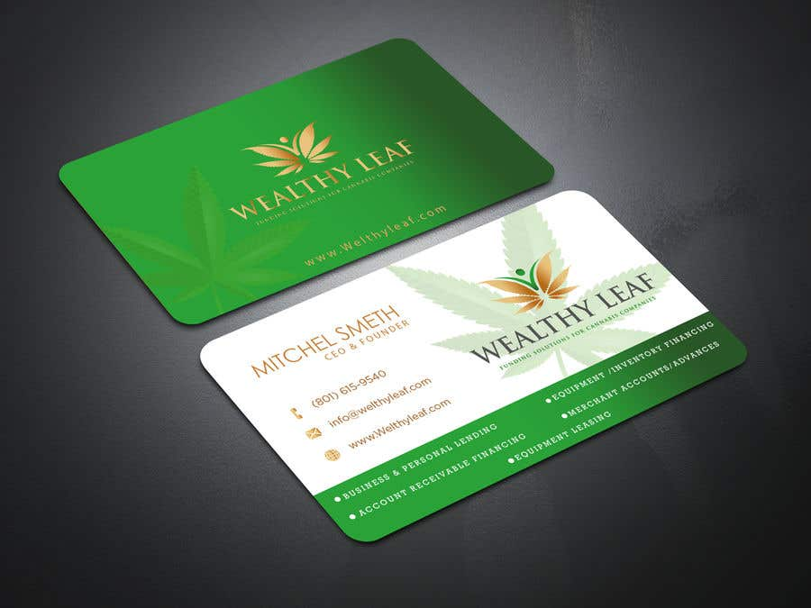 Proposition n°237 du concours Wealthy Leaf needs business cards