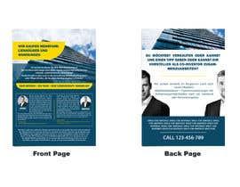 Nro 86 kilpailuun Flyer Design for Real Estate Agent käyttäjältä adhyjayadii