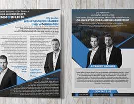 Nro 122 kilpailuun Flyer Design for Real Estate Agent käyttäjältä anirbanoddar1987