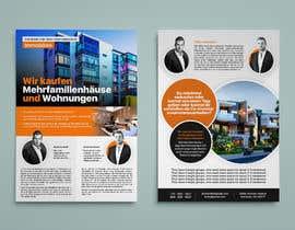 Nro 115 kilpailuun Flyer Design for Real Estate Agent käyttäjältä codesktechnology