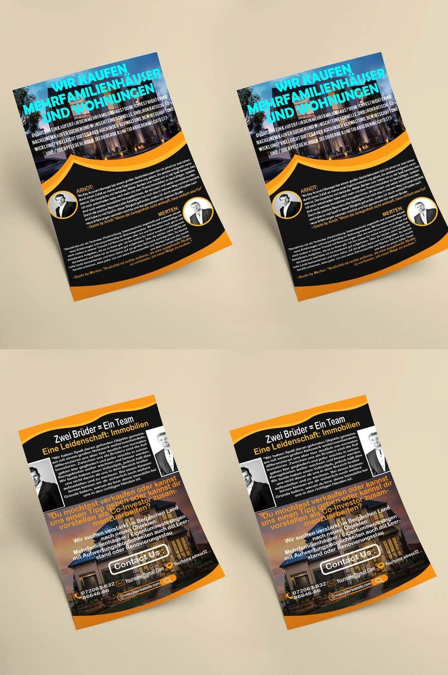 Kilpailutyö #110 kilpailussa Flyer Design for Real Estate Agent