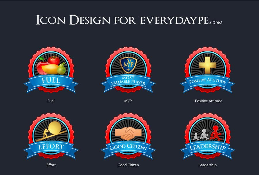 #9 for Icon or Button Design for www.everydaype.com by raikulung
