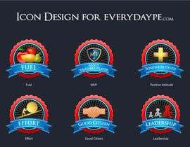 raikulung tarafından Icon or Button Design for www.everydaype.com için no 9