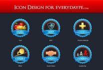 #11 for Icon or Button Design for www.everydaype.com by raikulung