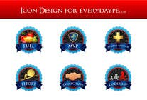 #12 for Icon or Button Design for www.everydaype.com by raikulung