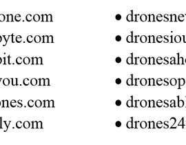 #63 untuk Drone Store Name for Shopify Store ($500 Bonus Prize) oleh anikkumar19