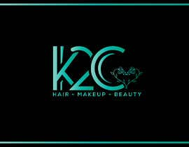 nº 32 pour the company is called K2C, Hair - Makeup - beauty should sit under the logo please look at attachments for ideas of what I am after. par decentdesigner2