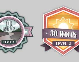 #20 for Design badges for an language learning platform by WeH1D