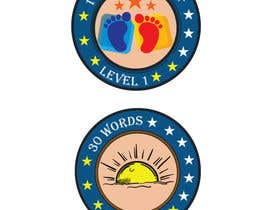 #18 untuk Design badges for an language learning platform oleh shimanto23