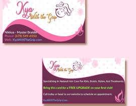 #29 для Need LOGO & BUSINESS CARD Design for a Salon от alaayassin90