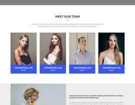#49 for Create a design for a company website by PUZONDAS