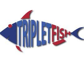 #113 untuk Would like a logo for TripletFish oleh alaminkhan600678