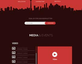 #9 for Design a website (Homepage PSD) by italyteam