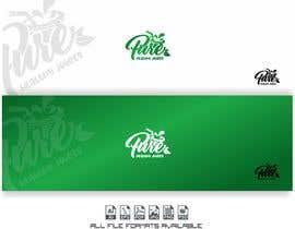 Nro 101 kilpailuun Fruit juice logo käyttäjältä alejandrorosario