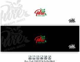 Nro 103 kilpailuun Fruit juice logo käyttäjältä alejandrorosario