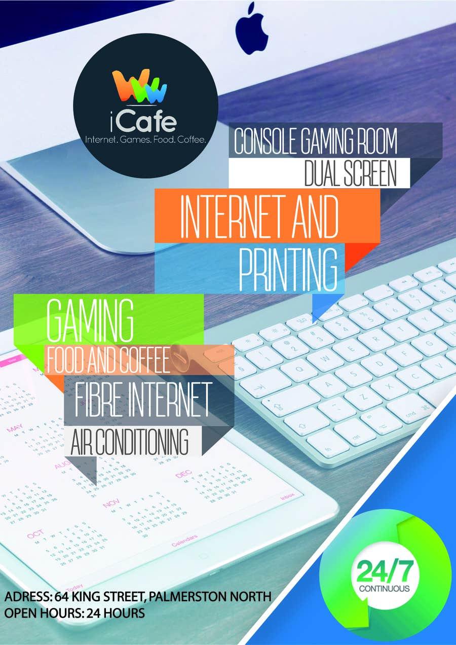 Entry #22 by jeremylotha for Internet Cafe Flyer | Freelancer