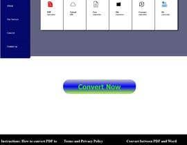 Nro 16 kilpailuun Design a landing Page for File Conversion Page käyttäjältä shajib1262