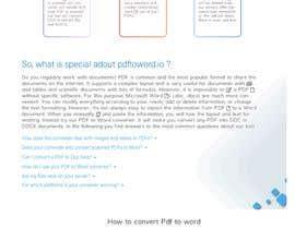 Nro 10 kilpailuun Design a landing Page for File Conversion Page käyttäjältä fayasm52