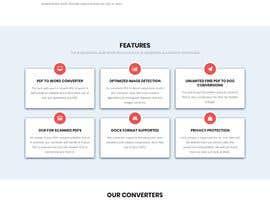 #8 untuk Design a landing Page for File Conversion Page oleh jahanvijasani46
