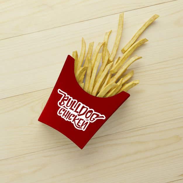 Penyertaan Peraduan #43 untuk A logo designed for Bulldog Chicken