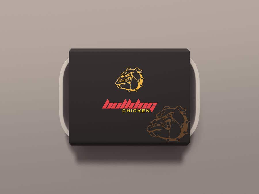 Penyertaan Peraduan #41 untuk A logo designed for Bulldog Chicken