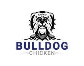 #32 untuk A logo designed for Bulldog Chicken oleh mdjahedul962