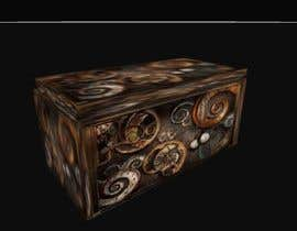#4 for Need a graphic of a modern steam punk type Trunk/Chest with video game glow upon open view. by sonnybautista143
